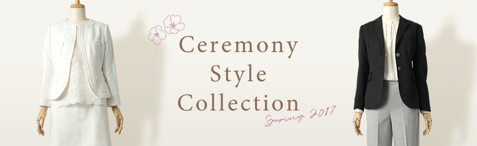 【レディース】Ceremony Style Collection