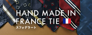 HANDMADE IN FRANCE TIE