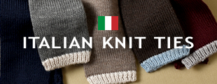 Wool Knit Ties