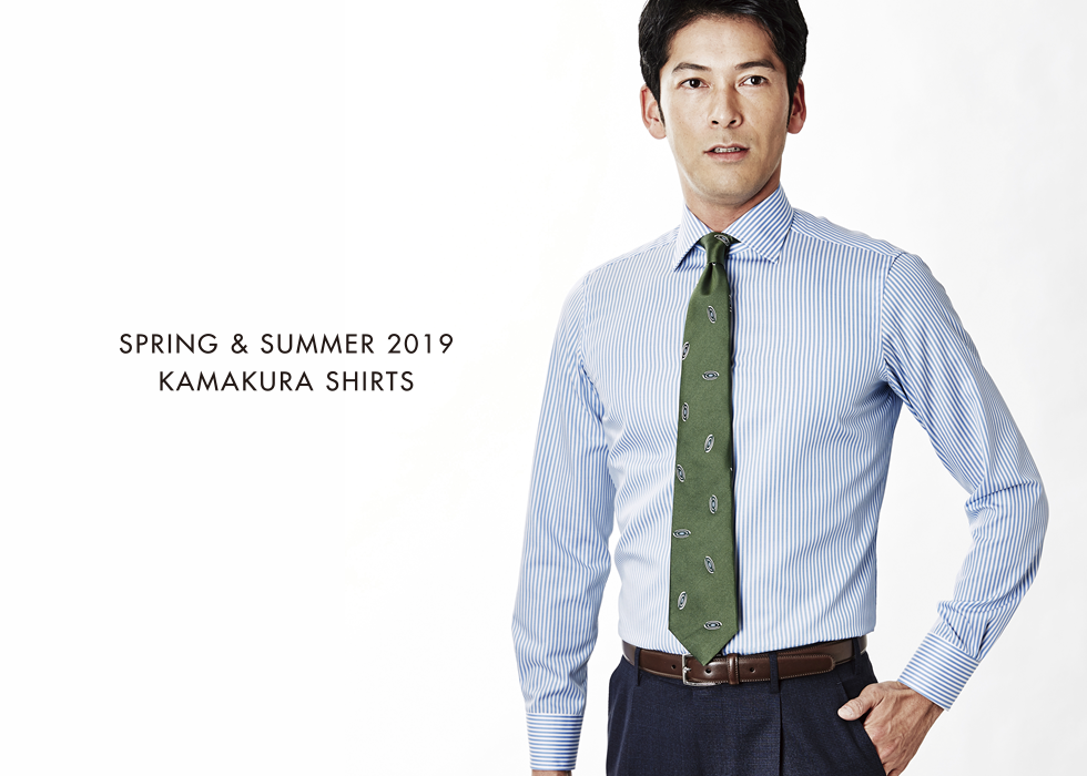 SPRING & SUMMER 2019 KAMAKURA SHIRTS MENS